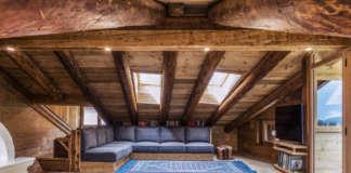 DEL CONCA_progetto Cortina D'Ampezzo_living room