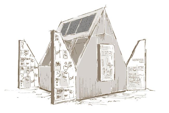 concept struttura sostenibile